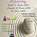Salon bien-être et bio 17 et 18 fèvrier de 10h à 17h30 saint-jory