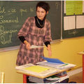 Intervention école et dédicace à roaillan...