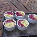 Ramequin rhubarbe-framboise