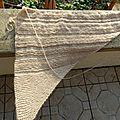 Motif tricot châle