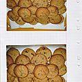 Cookies au toblerone