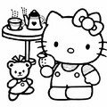 HELLO KITTY PREND SON GOUTER
