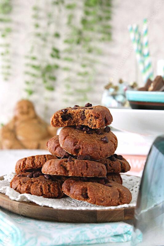 La recette des cookies au beurre de cacahuète et sans farine de Nigella Lawson (challenge cookies #4)