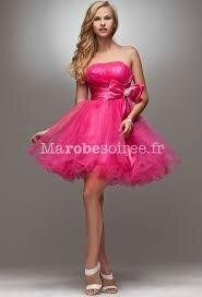 Robe Rose Bonbon Photo De Robe De Soiree Swag Man