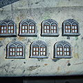 Manoir : les fenêtres de chez thomarillon