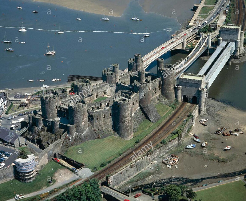 aerial-view-of-conwy-castle-wales-united-kingdom-F031T5