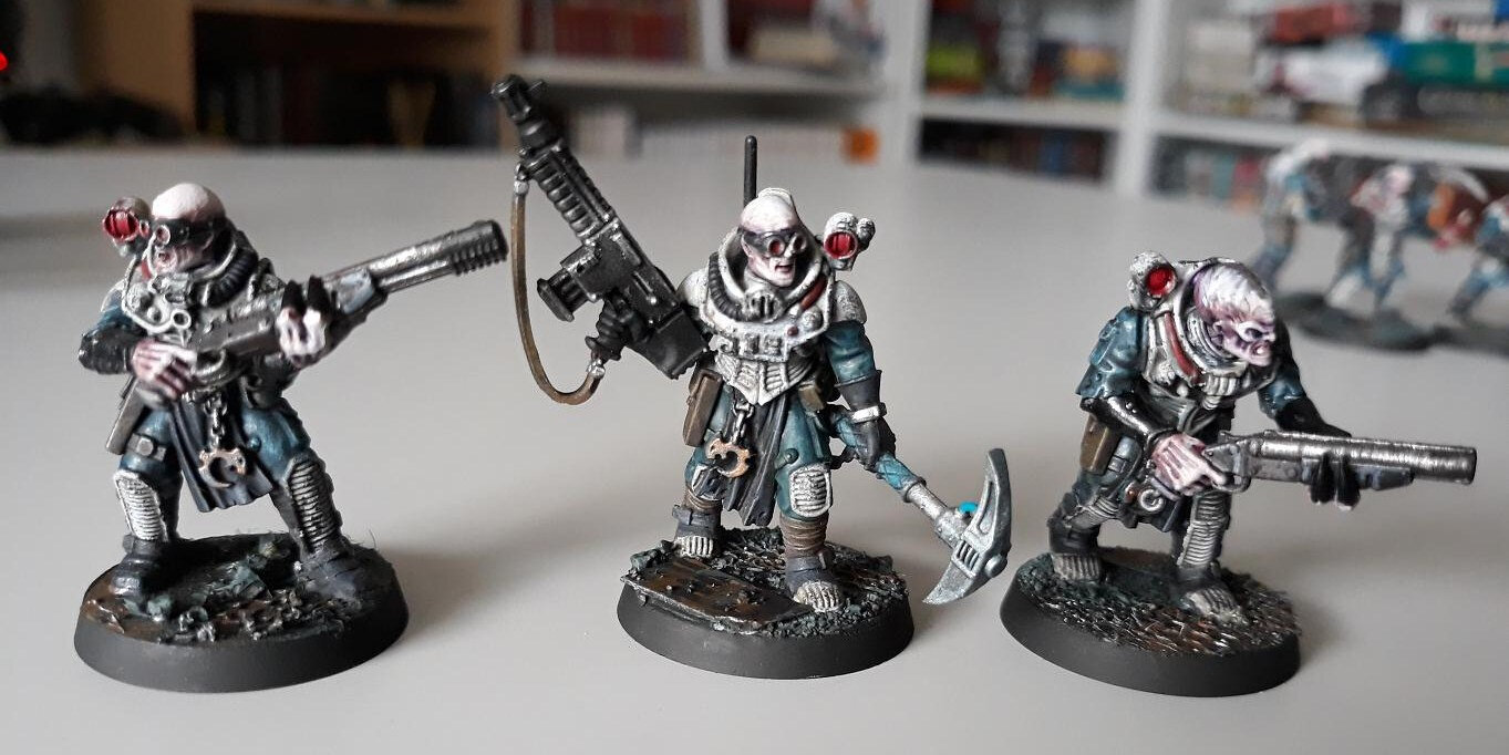 Shadow War Inquisimunda : peinture du culte