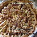 Tarte aux pommes et pâte de spéculoos