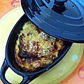 Cassolette de poulet à l'estragon