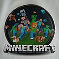 T-shirt Minecraft - détail