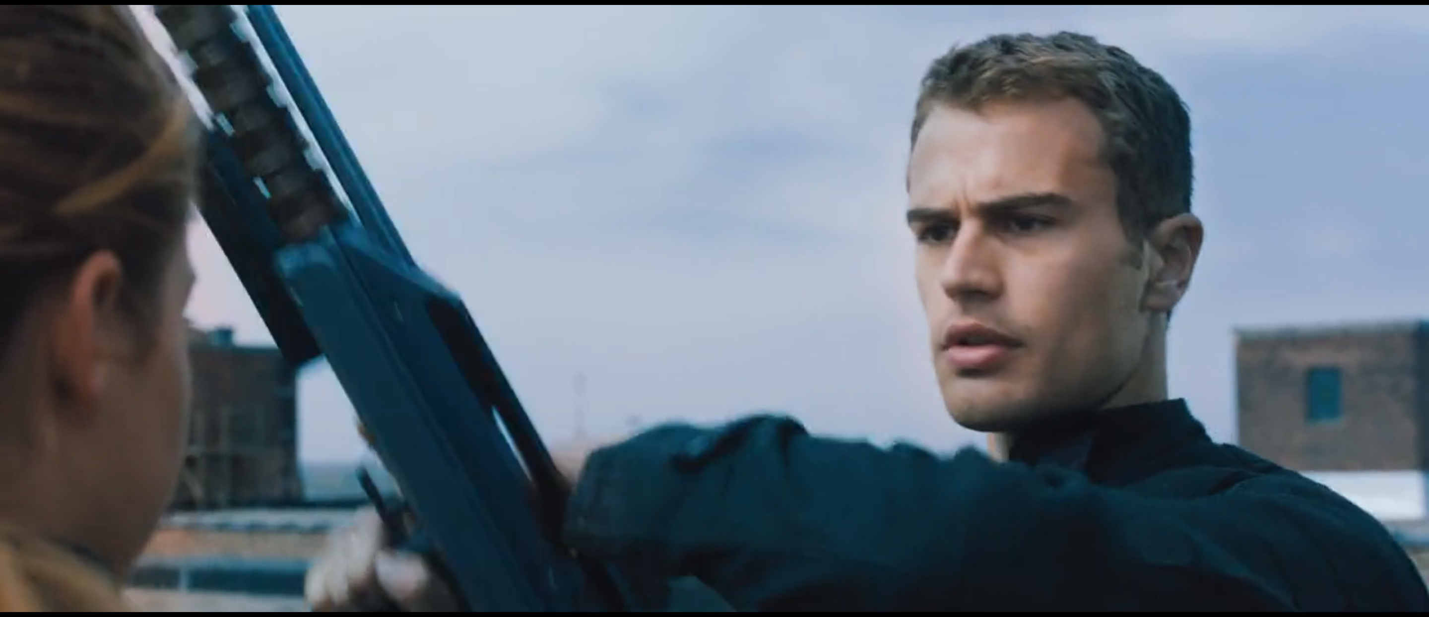 Tobias (Four) Divergent first look