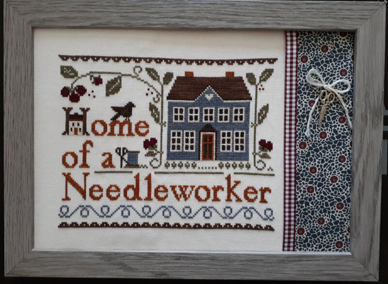 Home of a needleworker (Sylvie)