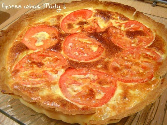 quiche thon-tomate-moutarde