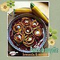 Rosaces de courgettes à la bresaola et à la mozzarella