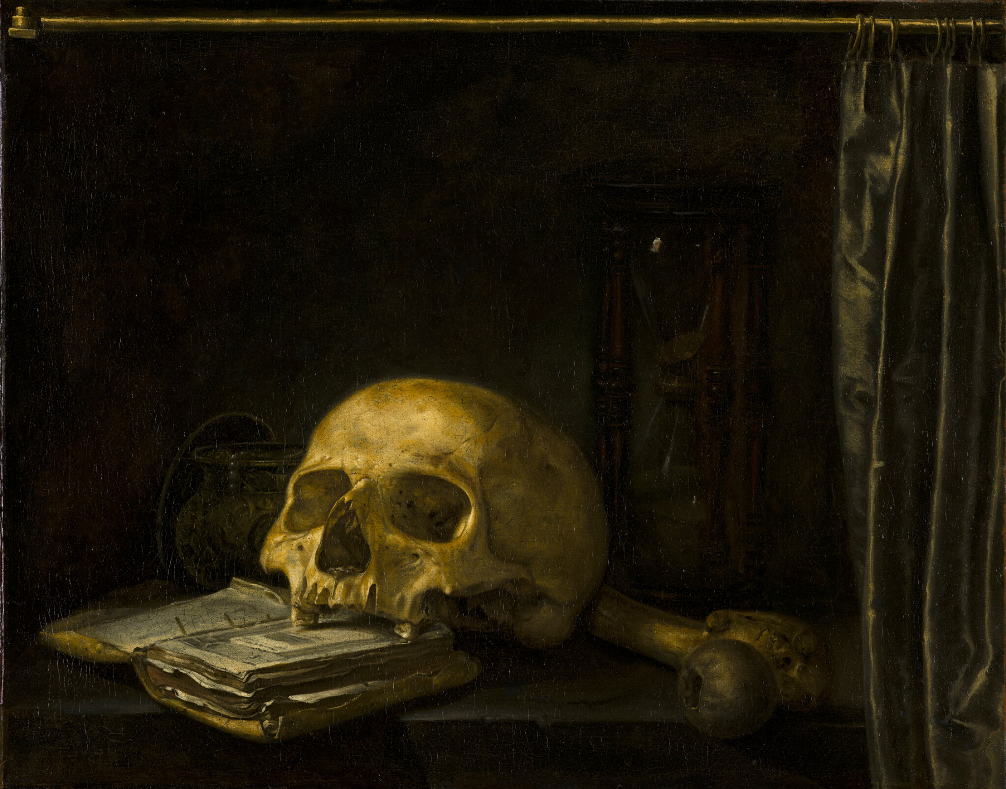 Anonymous (Northern Netherlands), Vanitas Still Life, c. 1650, oil on canvas, 45 x 56 cm. © 2019 Mauritshuis ------WebKitFormBoundaryAOKvZziJQfD7bmSz Content-Disposition: form-data; name=