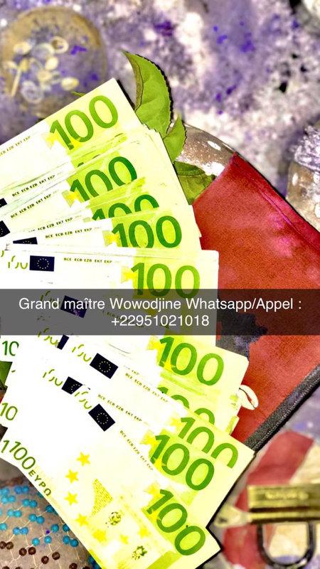 marabout wowodjine portefeuille magique France, portefeuille magique en euro, portefeuille magique europe