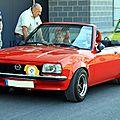 L' opel ascona type b cabriolet (1975-1981)(regiomotoclassica 2011)