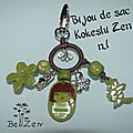 bijou de sac kokeshi zen N°1