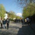 vue sur les montagnes, Lijiang