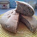 Black zitoun bread