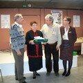 Avec des amis de GENCREUSE et Thérèse BABILLOT