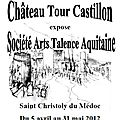 L'association sata de talence expose au chateau tour castillon