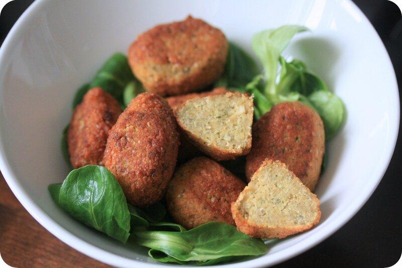 Falafels ultra faciles, façon Jamie Oliver
