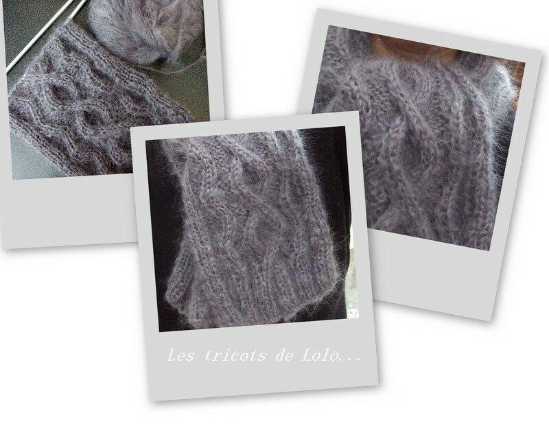 L'écharpe plume de Marie-Jo (11/07)