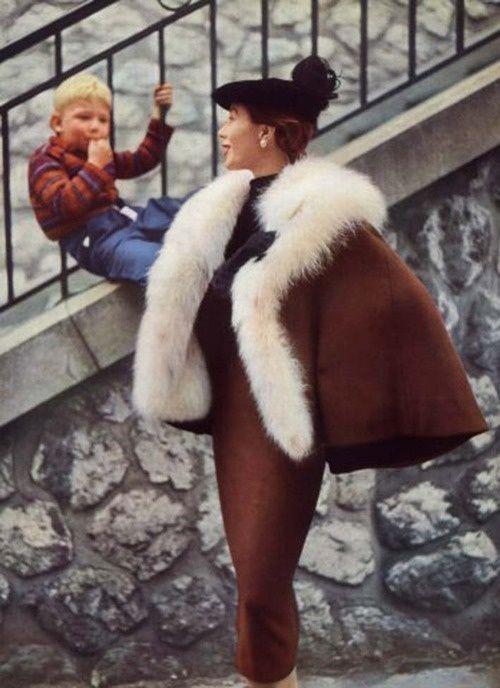 Balenciaga, 1950 Photo by Philippe Pottier