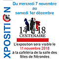 Exposition 1914 - 1918