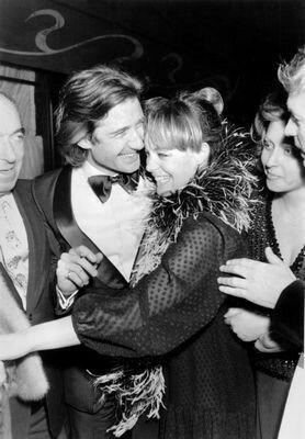 Daniel Biasini & Romy Schneider en 1975