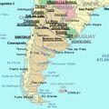 Parcours argentin du 13 juin au 10 juillet