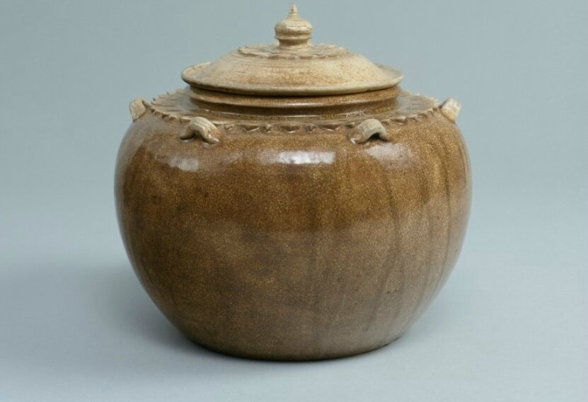 Storage Jar, Vietnam, Thanh Hoa, 11th century-12th century