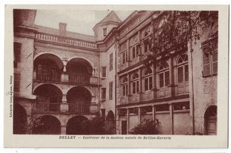 01 - BELLEY - Maison natale de Brillat Savarin
