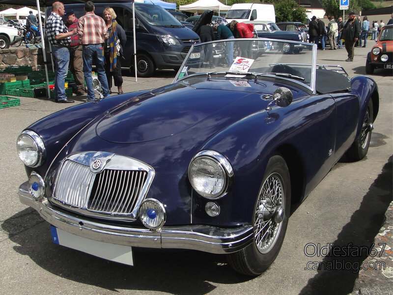 MG A 1500 roadster 1955-1959-01