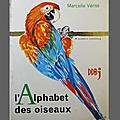 Livre album ... l'alphabet des oiseaux (1965)