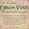 Circle-journal : fashion victim
