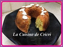 Gâteau de semoule à la marocaine