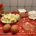 Gâteau aux pommes, miel et spéculoos lotus