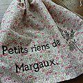 Pochon pour Margaux.