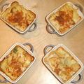 Lasagne de pomme de terre aux 2 saumons