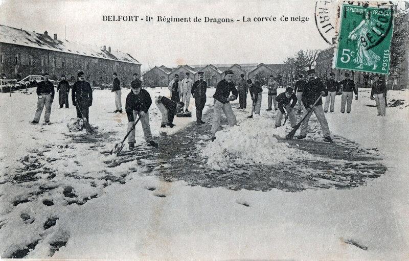 Belfort CPA Caserne Gérard 1903-11a