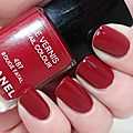Rouge fatal-chanel