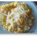 Risotto gourmand au potimarron