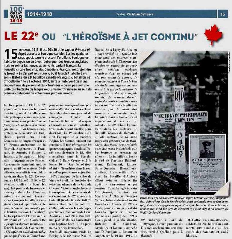Canada 22 ème