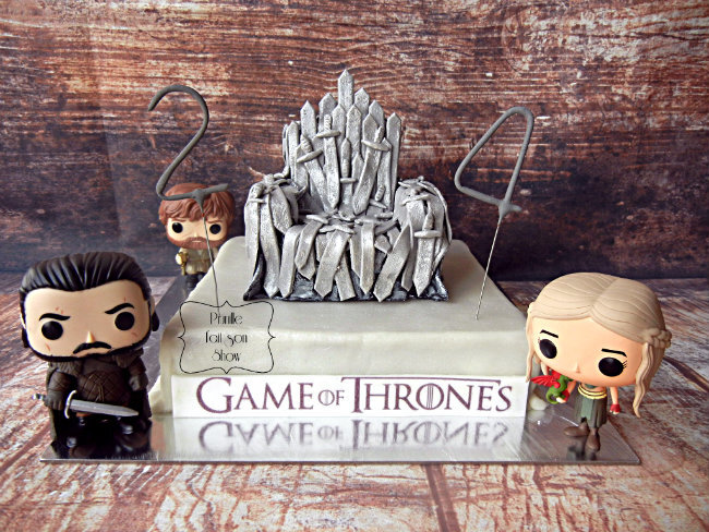 "Gateau ""Game of throne"""