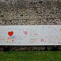 Bibliotheque coulommiers / le mur d'expression poëtique