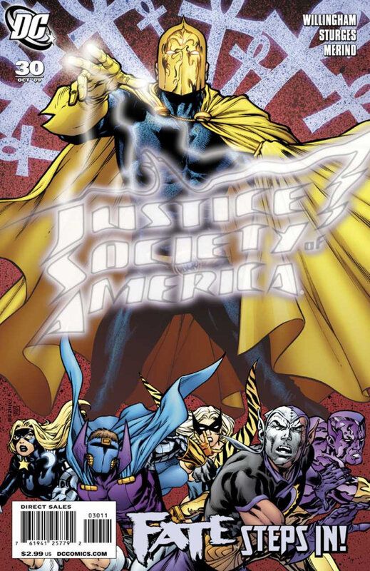 justice society of america 30