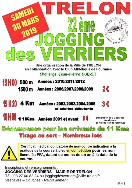 TRELON-Jogging des Verriers 2019