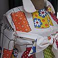 Ciré AGLAE en coton enduit blanc imprimé guinguette (5)